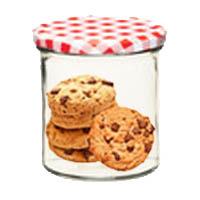 Frasco Cookies Vintage