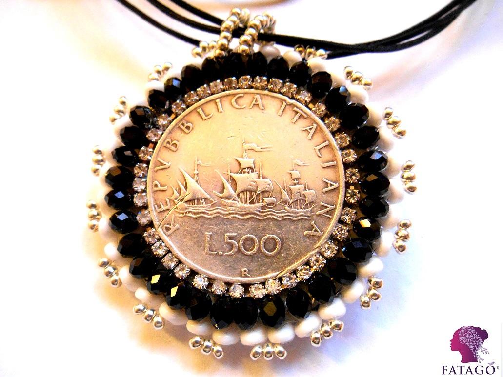 Fatago' Edizione Limitata 500Lire in argento con le tre Caravelle