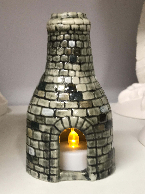 Medium Bottle T Light Kiln