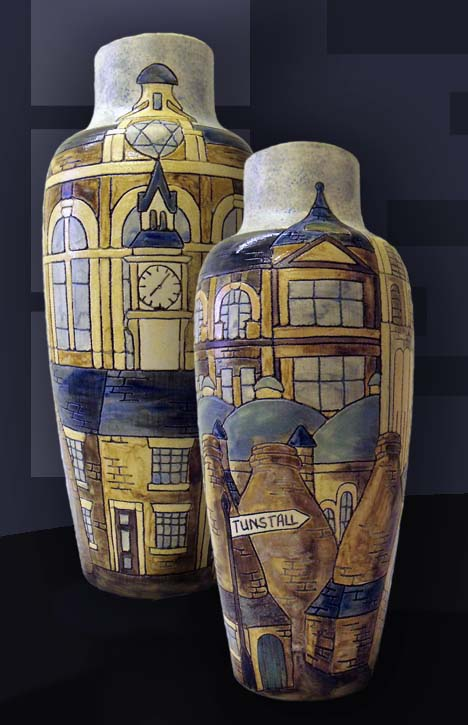 Tunstall Bottle vase