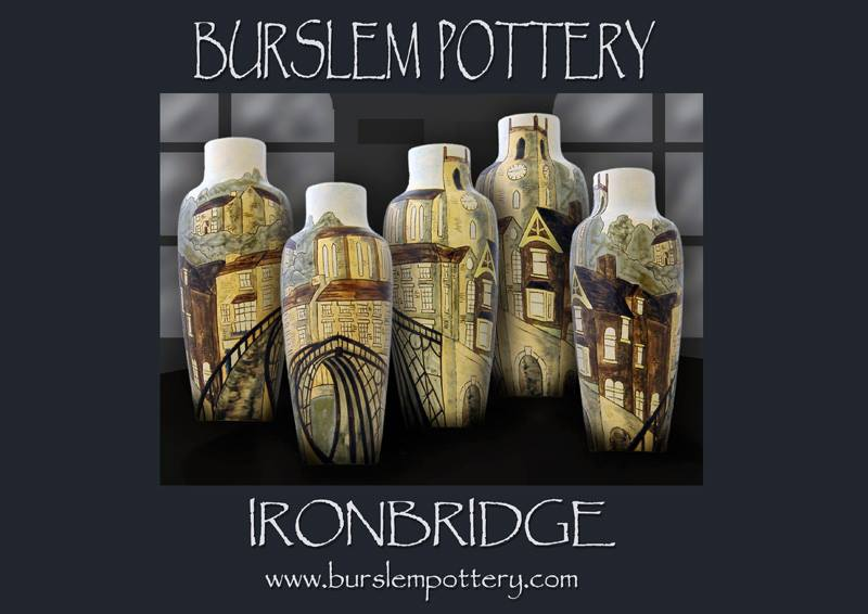 Ironbridge bottle vase