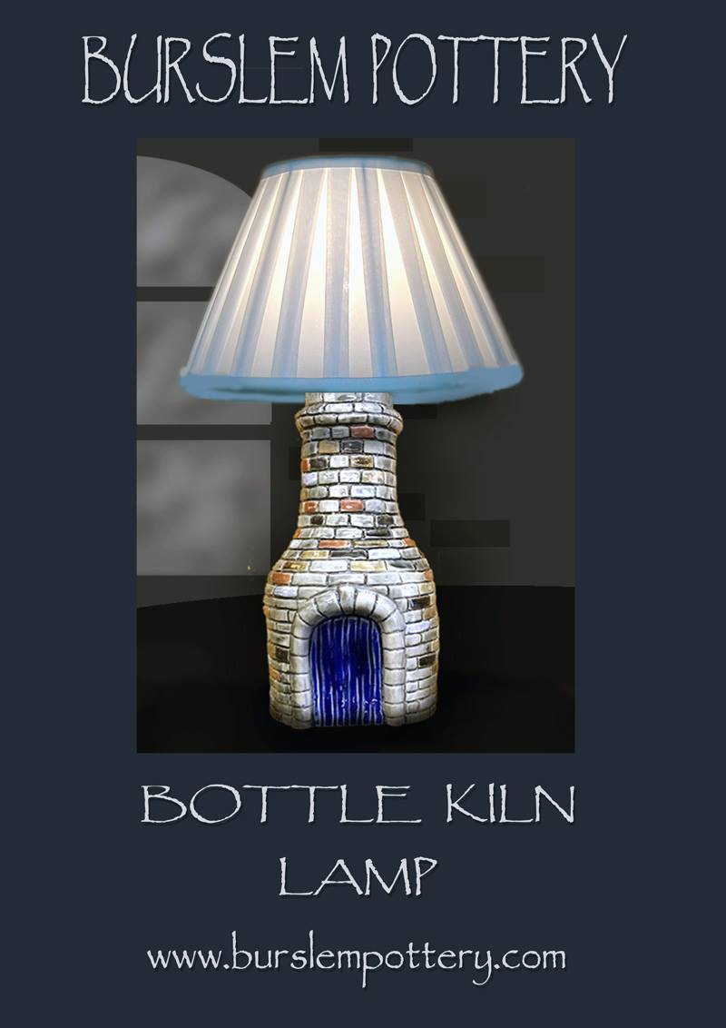 large Bottle Kiln lamp