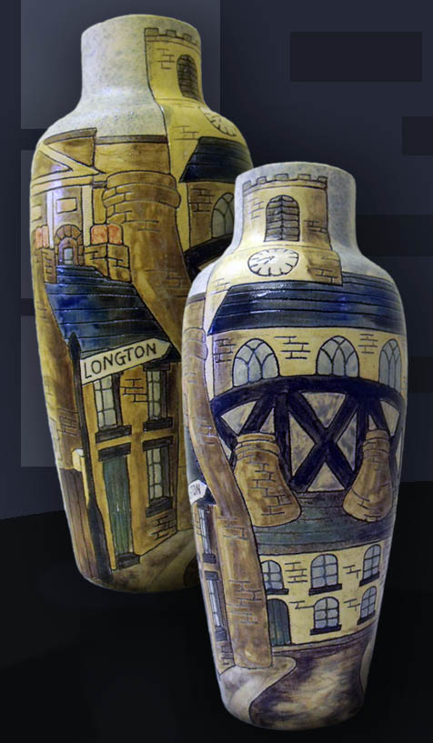 Longton Bottle vase