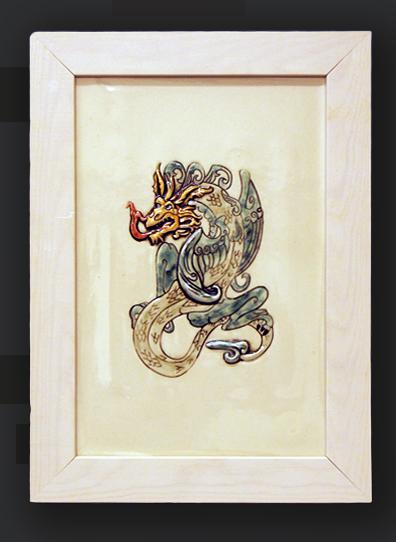 Dragon tile 1