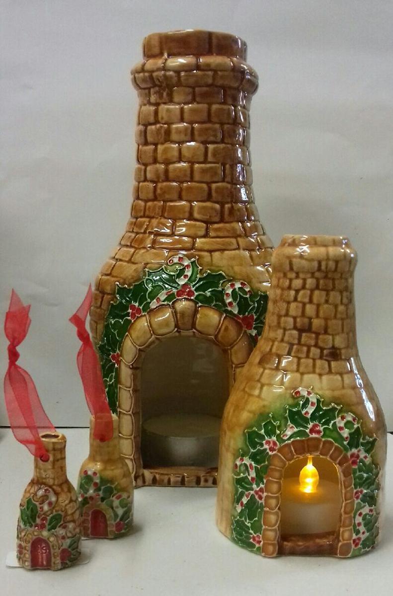 Mini Christmas Bottle Kiln