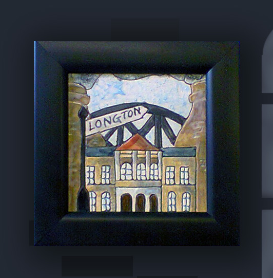 Longton Framed Coaster