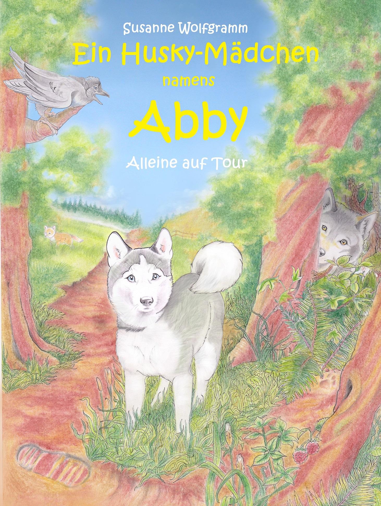 Ein Husky-Mädchen namens Abby / Alleine auf Tour