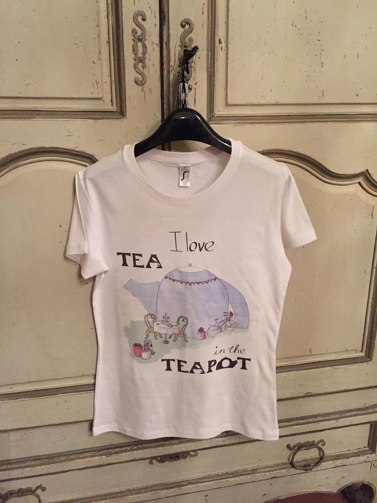 Tea in the Teapot T Shirt