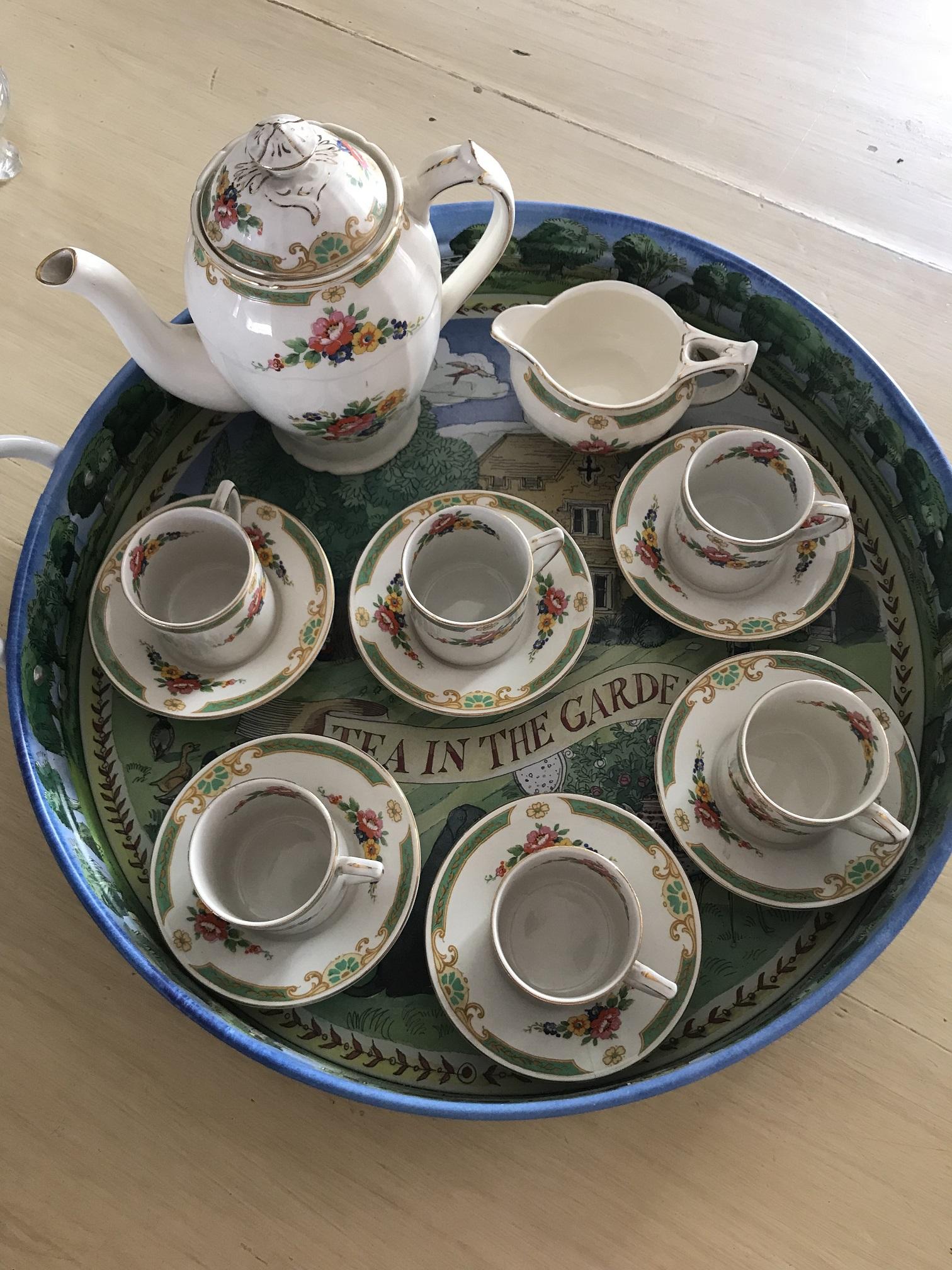 Alfred Meakin Coffee Set
