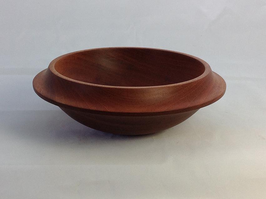 Food bowl, mahogany family of wood