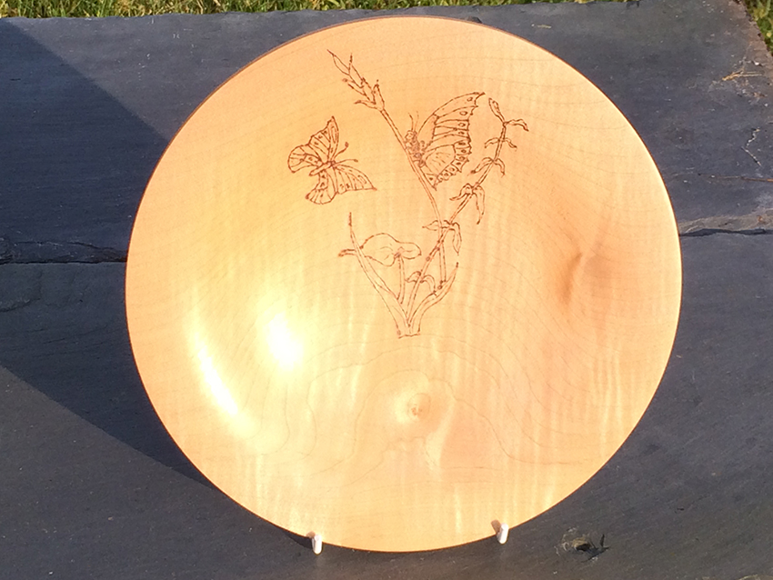 Butterfly Sycamore Bowl