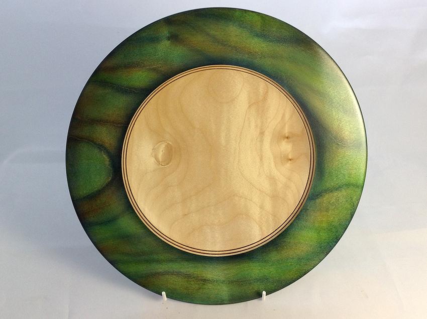 Coloured Sycamore bowl