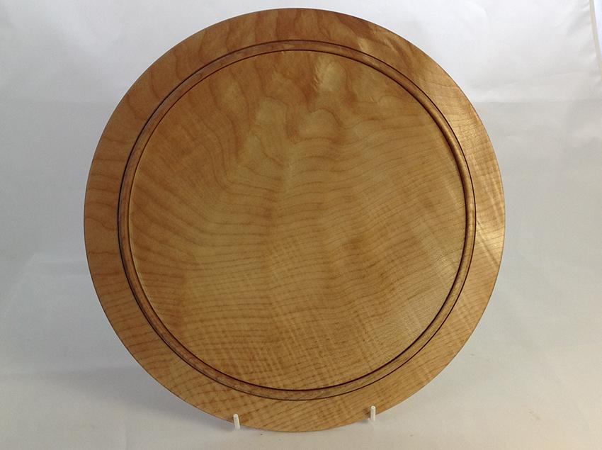 Sycamore serving platter