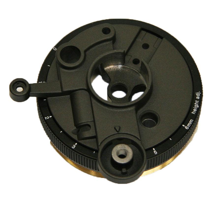 RFKN1200MK2B 1210 Tonearm Base (Black)