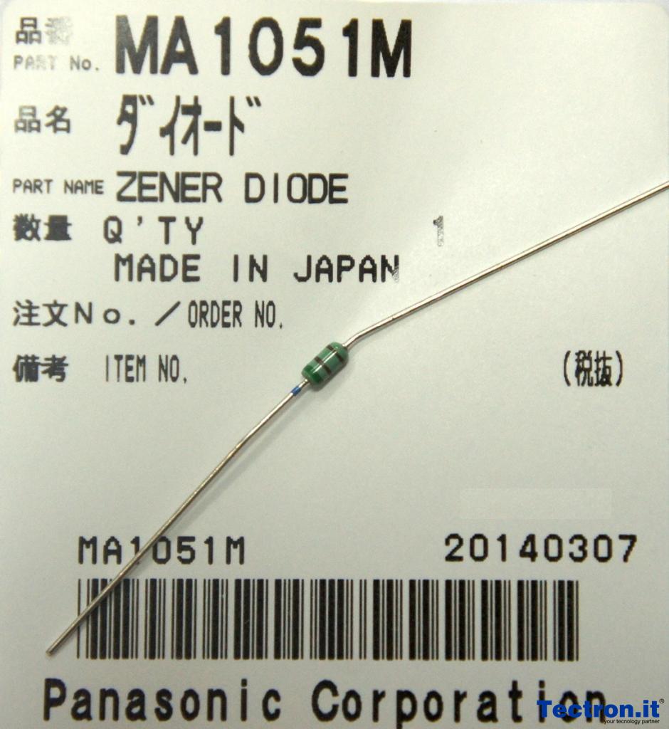 MA4051NM 5.1v Zener Diode