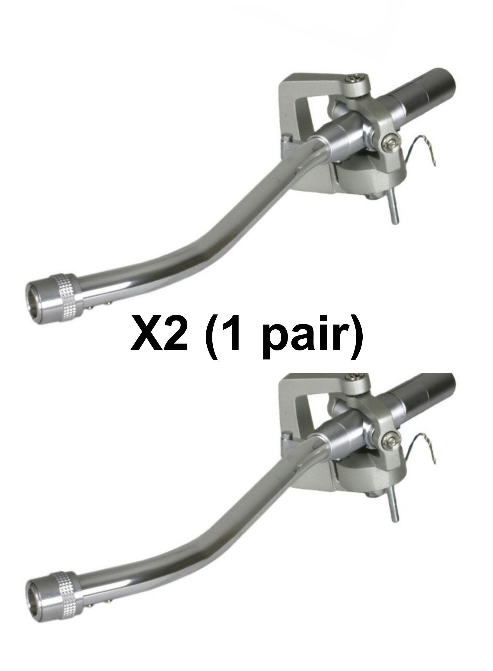 P-AM18201K1 1200 PAIR Tonearm (Silver) Brand New
