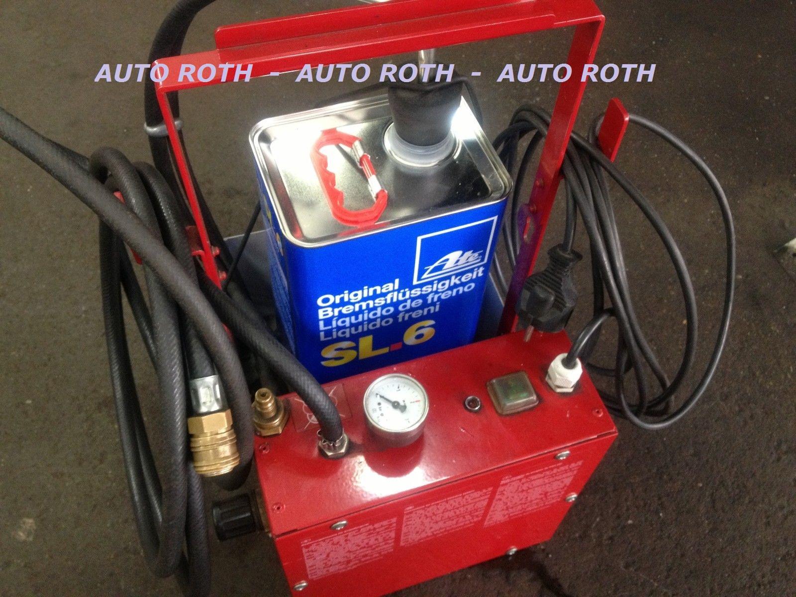 Bremsflüssigkeitswechsel inkl. Material ATE DOT4 SL6 inkl. 16% Mwst