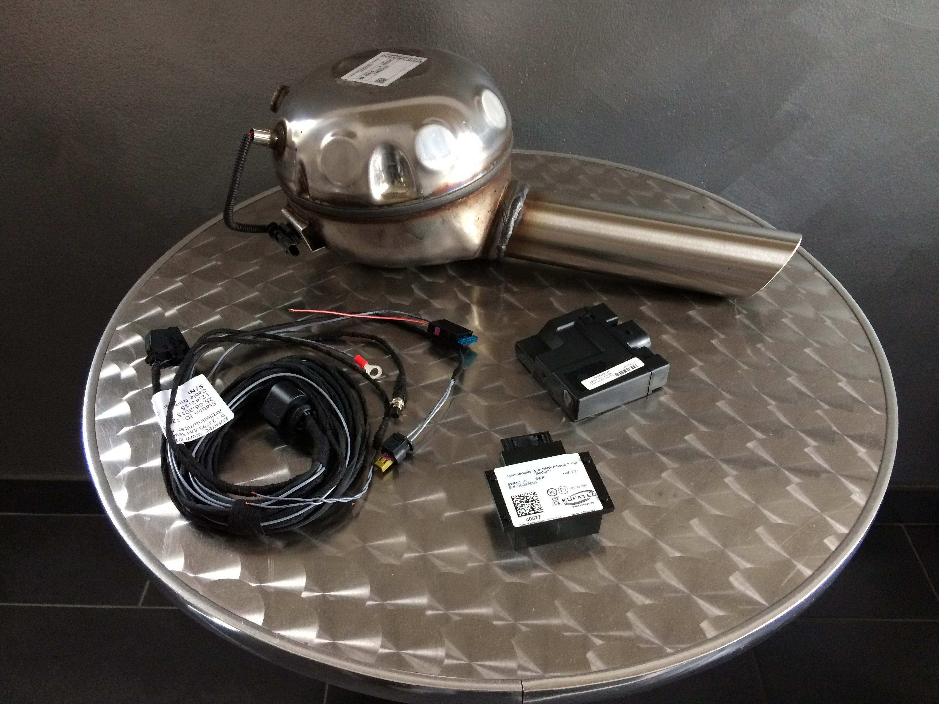 Sound Booster Pro - Motor Active Sound - Porsche Elektronik Modul für Werkseitige Auspuffanlage - inkl. 19% Mehrwertsteuer + Versand
