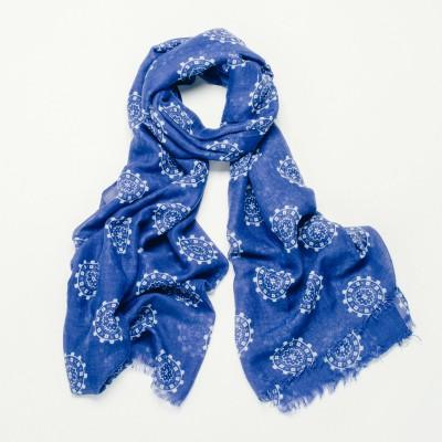 Blue venus scarf