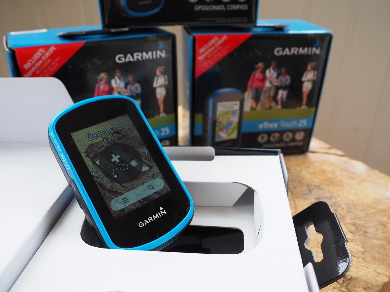 GPS-Geräte warten auf ihren Einsatz