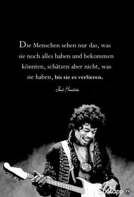 Jimi Hendrix Weisheit