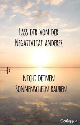 Bleibe positiv