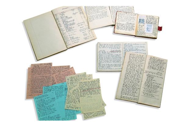 Anne Franks notebooks