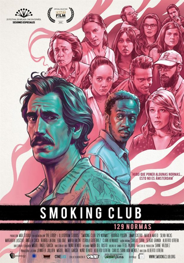 Cartel de 'Smoking Club (129 normas)