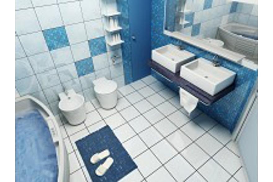 Salle de bain et film chauffant électrique 36V