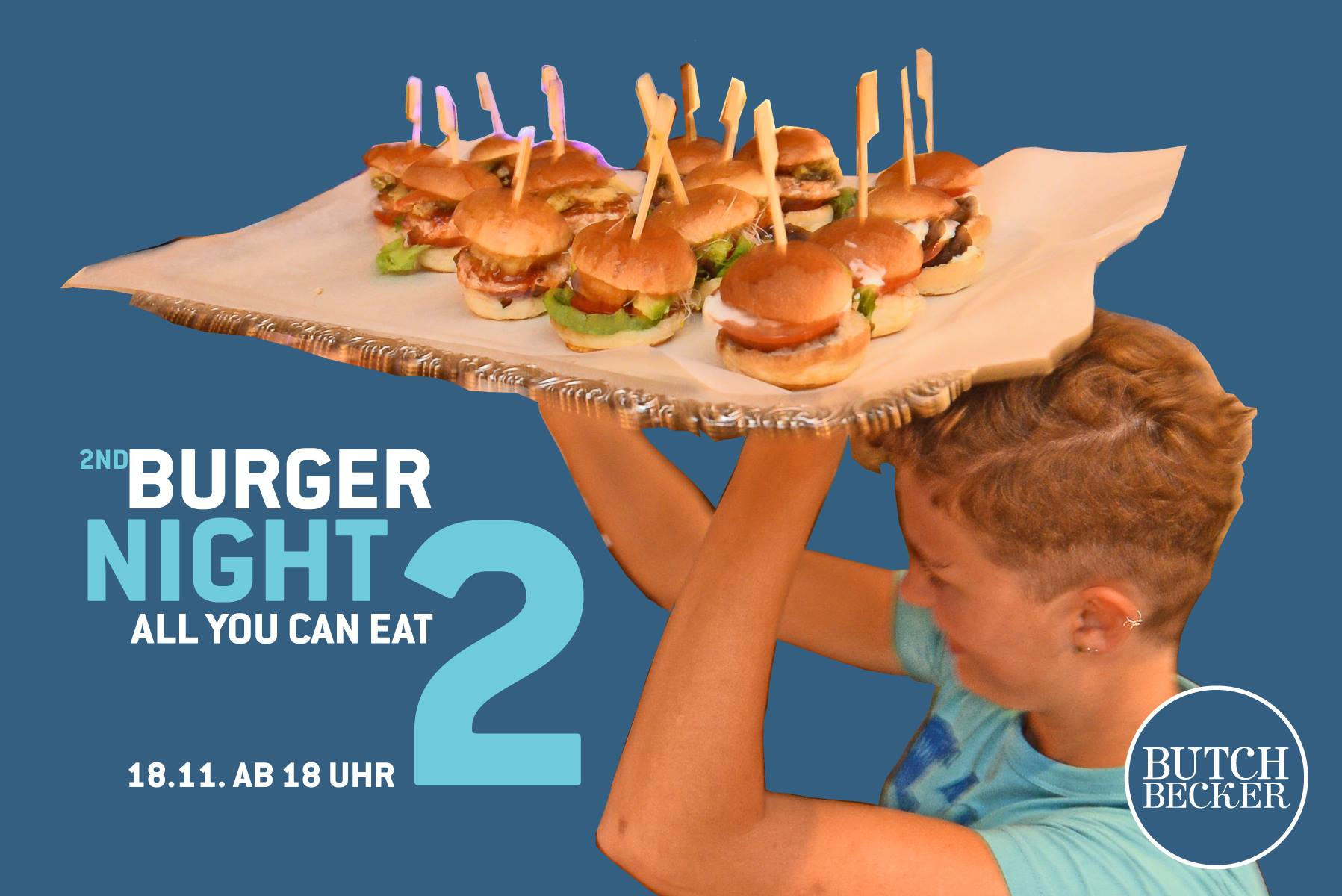 2nd Burger Night 18.11. ab 18:00 Uhr