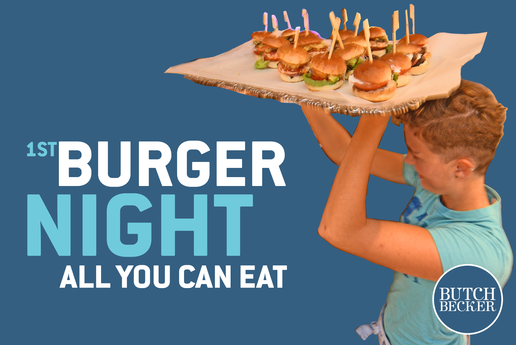 1St BURGER NIGHT - ALL YOU CAN EAT