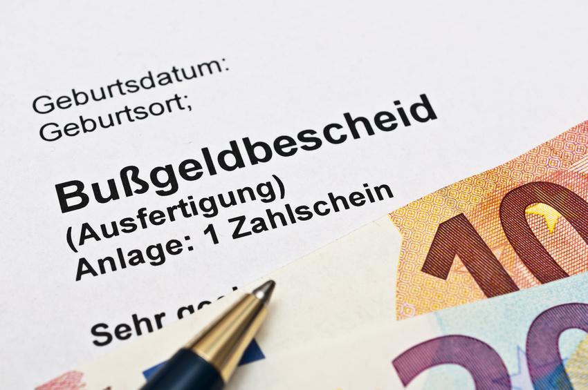 Blog Bußgeldbescheid Anwalt Neuruppin Wittstock