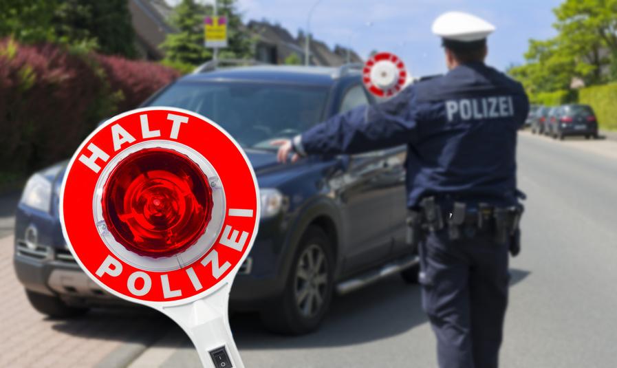 Fahrzeug Drogen Alkohol Polizei