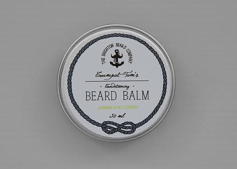 THE BRIGHTON BEARD COMPANY CREAMPOT TOM'S JASMIN & LEMON BEARD BALM 30ml