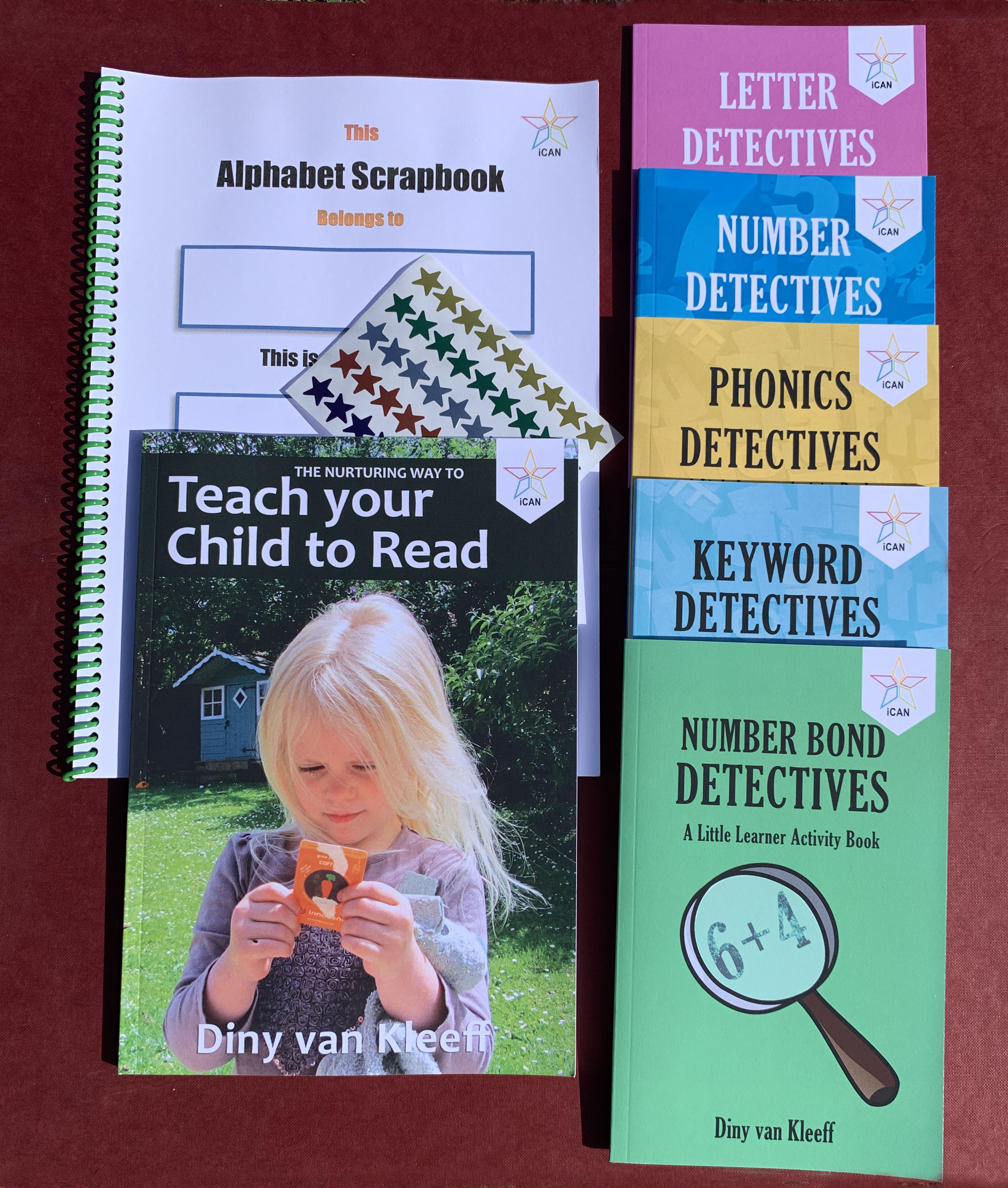 iCAN First Years Home-Learning Pack £36 + £3 p&p