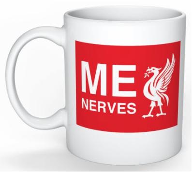 LFC 'Me Nerves' Mug