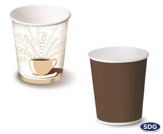 Bicchieri caffe in cartoncino
