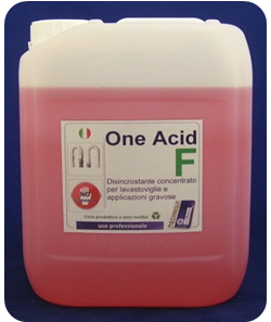 One Acid disincrostante per lavastoviglie