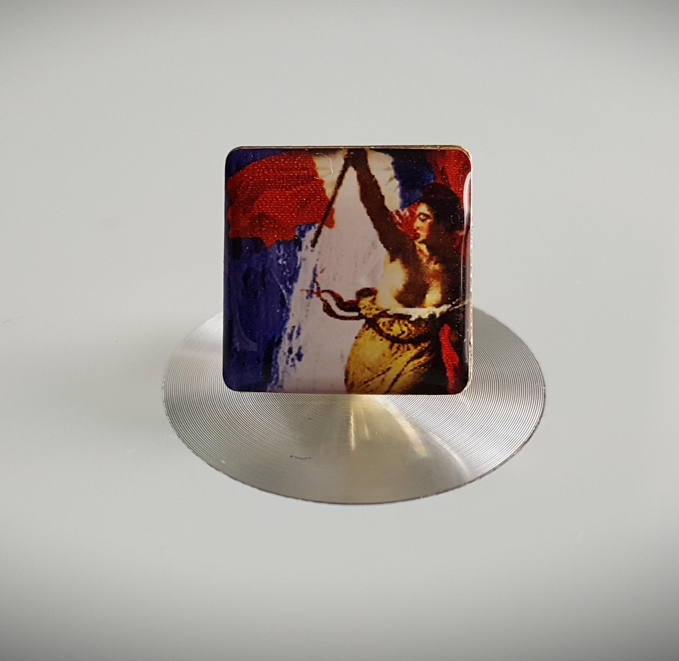 Pin's Bleu-Blanc-Rouge Forces Laïques
