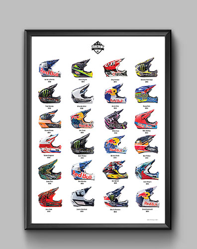 Dirty Skid Lids A2 Poster