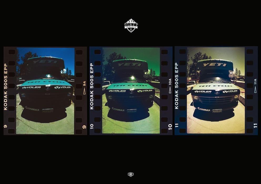 Yeti Boxvan Triptych