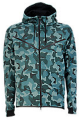 Nike Tech Fleece Camo Windrunner - Hombre