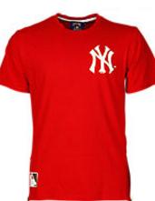 Majestic Prine NY Long Line Zip T-Shirt - Hombre