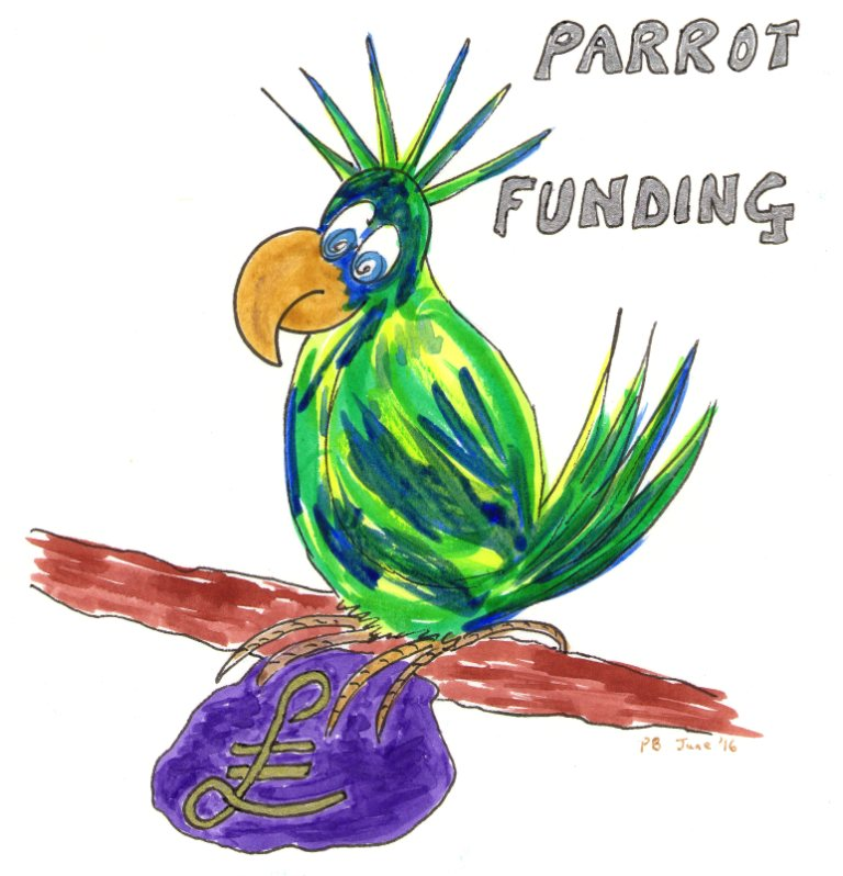 Is Crowd Funding, Crow Funding or Parrot Funding