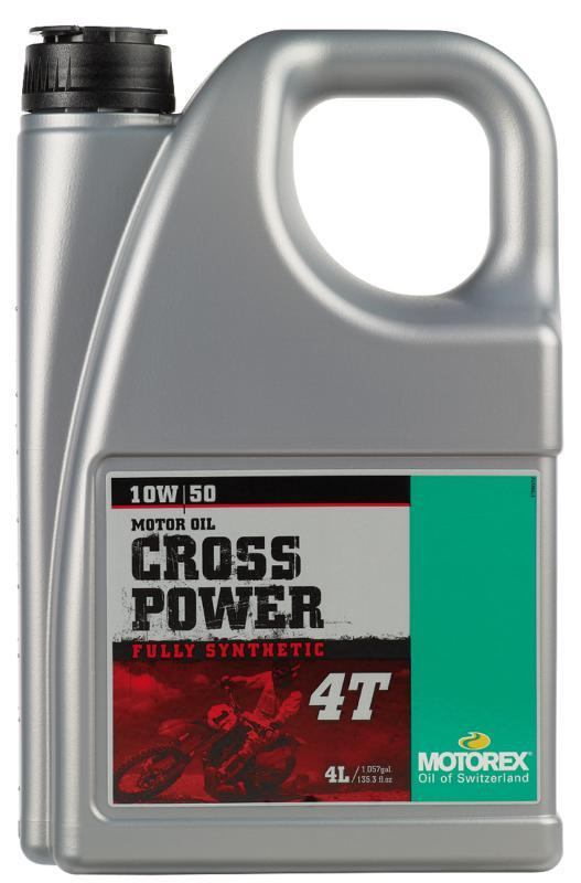 OIL CROSSPOWER 4T 10/50W 4LT MOTOREX