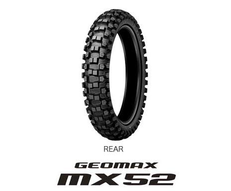 19-100/90 MX52 DUNLOP MX TYRE