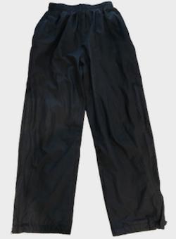 Black Waterproof Tracksuit Trousers