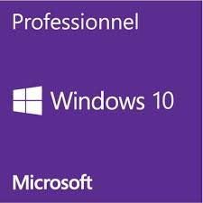 1 Windows 10 Pro 64 Bytes sans CD