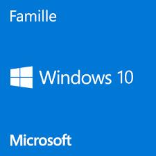 1 Windows 10 famille 64 Bytes sans CD