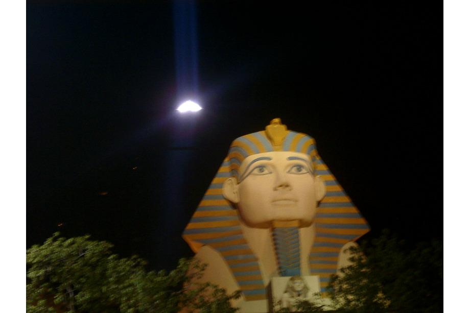 Le Luxor à Las Vegas